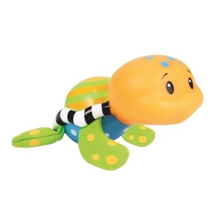 Sassy Orange Tiny Tubtime Turtle Bath Squirter