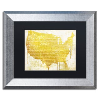 Color Bakery 'American Dream II' Matted Framed Art