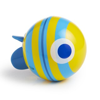 Munchkin Blue SpinBall Swimming Fish Toy