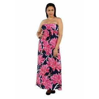 24/7 Comfort Apparel Maui Dreams Plus Size Dress