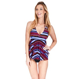 Mazu Swim Mesh Triple Tier Women's Tankini Top