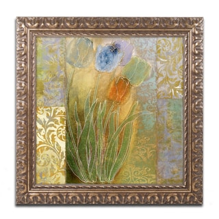 Color Bakery 'Emily I' Ornate Framed Art