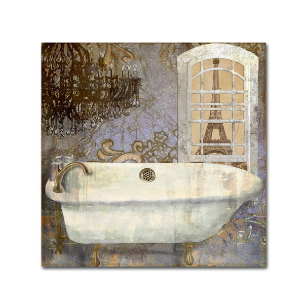 Color Bakery 'Salle de Bain I' Canvas Art