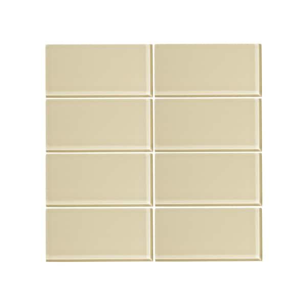 Vicci Design Sandstone Gl 3 Inch X 6 Subway Tile Square Feet