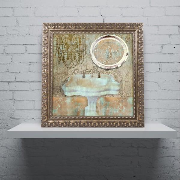 Shop Color Bakery Salle De Bain Iii Ornate Framed Art Multi