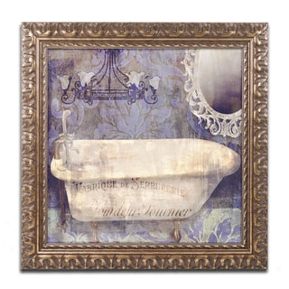 Color Bakery 'Le Bain Paris II' Ornate Framed Art