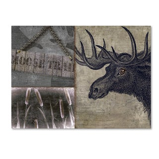 Color Bakery 'Moose' Canvas Art