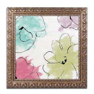 Color Bakery 'Kasumi five' Ornate Framed Art