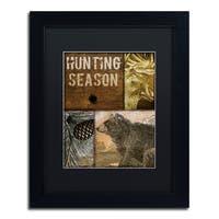 Color Bakery 'Hunting Season IV' Matted Framed Art