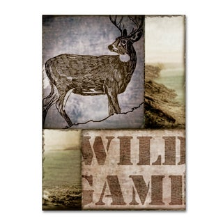 Color Bakery 'Wild Game' Canvas Art