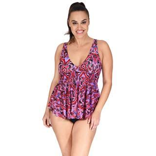 Mazu Swim Mesh Triple Tier Women's Plus Size Tankini Top https://ak1.ostkcdn.com/images/products/14769122/P21292248.jpg?impolicy=medium