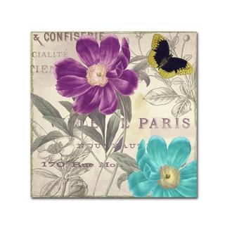Color Bakery 'Petals of Paris II' Canvas Art
