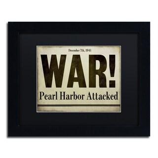 Color Bakery 'Pearl Harbor' Matted Framed Art