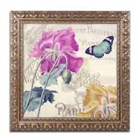 Color Bakery 'Petals of Paris III' Ornate Framed Art