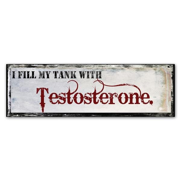 Color Bakery 'Testosterone' Canvas Art