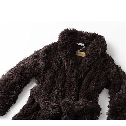 Brotoga Believe It! Brown Classic Version Coat Robe