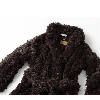 Brotoga Believe It! Brown Classic Version Coat Robe