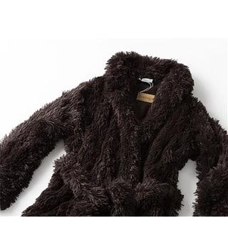 Brotoga Believe It! Brown Classic Version Coat Robe|https://ak1.ostkcdn.com/images/products/14769396/P21292426.jpg?impolicy=medium