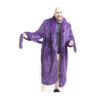 Brotoga Men's Royalty Purple Classic Version Robe (Option: L)