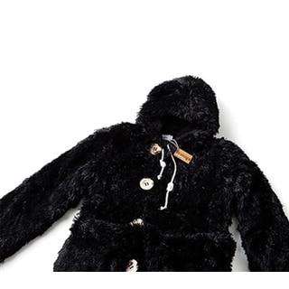Brotoga Baller Version Pitch Black Fleece Coat-robe