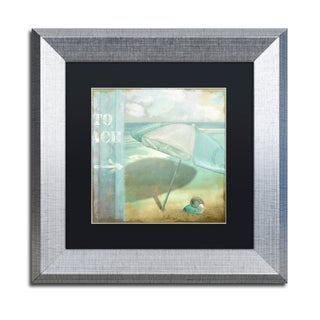 Color Bakery 'By the Sea II' Matted Framed Art