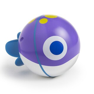 Munchkin SpinBall Purple Swimming Fish Toy