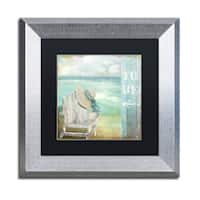 Color Bakery 'By the Sea I' Matted Framed Art