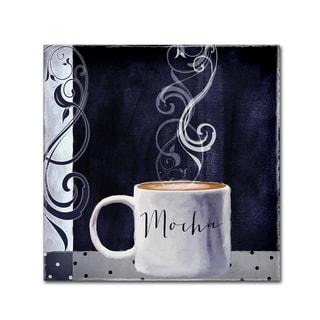 Color Bakery 'Cafe Blue III' Canvas Art