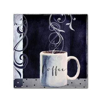 Color Bakery 'Cafe Blue I' Canvas Art