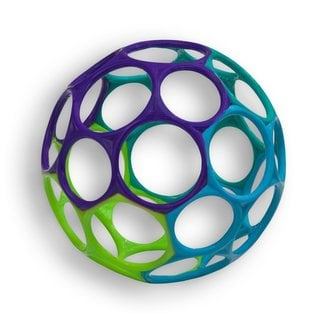 Oball Classic Blue/Green/Purple Grasping Toy