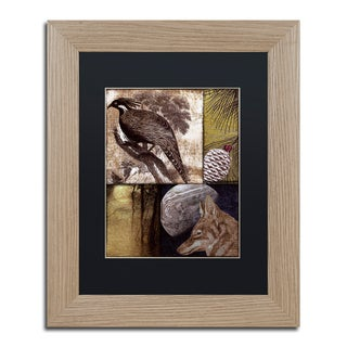 Color Bakery 'On the Hunt III' Matted Framed Art