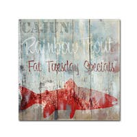 Color Bakery 'New Orleans Seafood III' Canvas Art
