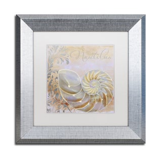 Color Bakery 'Painted Sea III' Matted Framed Art