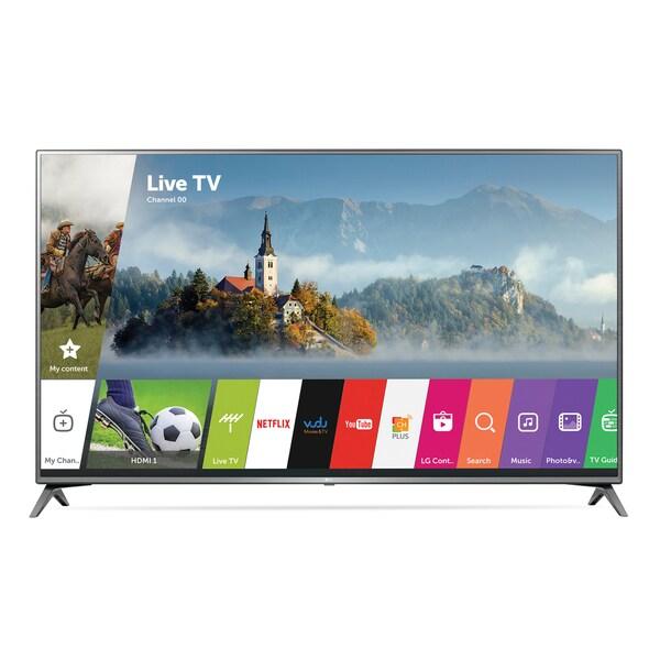 LG 75-inch Class 4K UHD 120HZ HDR LED 75JU6470 Television