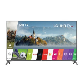LG 60-inch Class 4K UHD 120HZ HDR LED 60UJ7700 Television