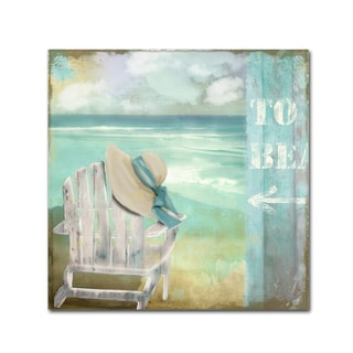 Color Bakery 'By the Sea I' Canvas Art