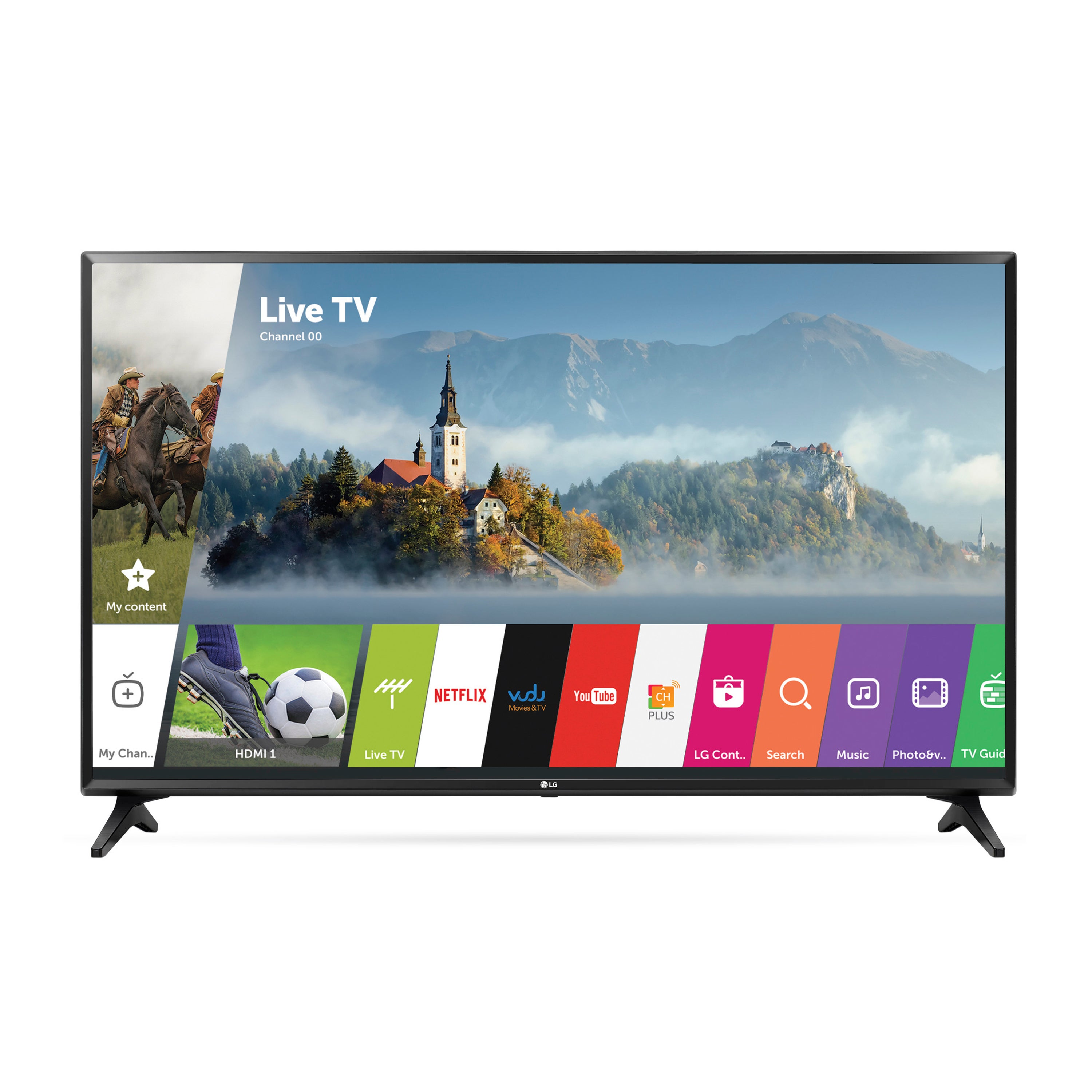 LG 43-inch Class 1080P LED 43LJ5500 Television with W Web...