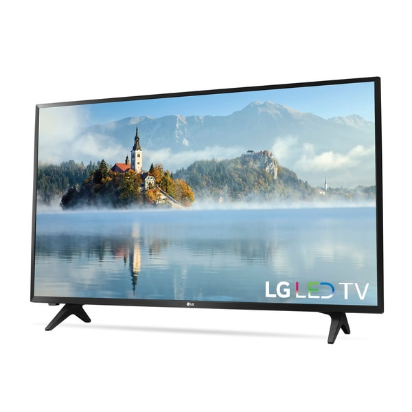 lg tv 1080p. lg 43-inch class 1080p led 43lj5000 television - free shipping today overstock.com 21292948 lg tv 1080p