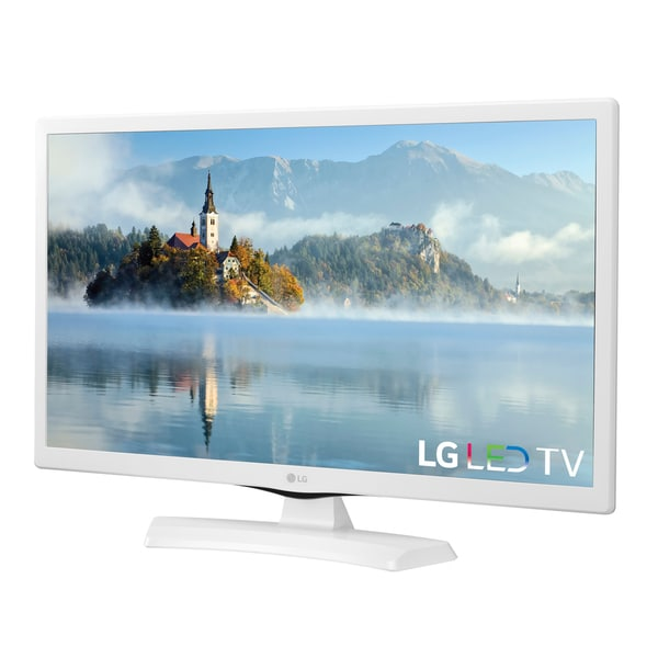 lg tv white. lg 24-inch class white led 24lj4540-wu television - free shipping today overstock.com 21292950 lg tv