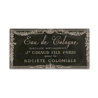 Color Bakery 'Signes Francais VIII' Canvas Art