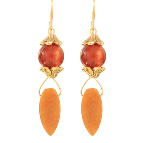 Handmade Atsila Stone Earrings