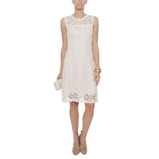 Elie Tahari Ophelia White Lace Dress