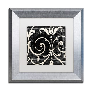 Color Bakery 'Stylesque II' Matted Framed Art