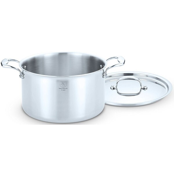 Hammer Stahl 8 Quart Dutch Oven With Cover