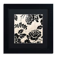 Color Bakery 'Stylesque III' Matted Framed Art - Black