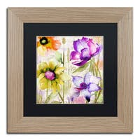 Color Bakery 'Afterglow II' Matted Framed Art