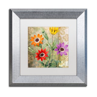 Color Bakery 'Fiesta II' Matted Framed Art