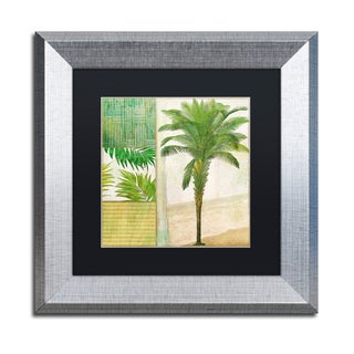 Color Bakery 'Paradise I' Matted Framed Art