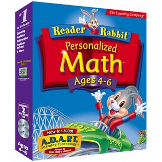 Shop Reader Rabbit Math Ages 4 6 Software Free Shipping
