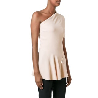 Stella McCartney Pink One Shoulder Top